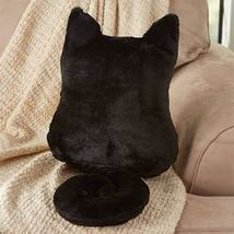Cozy Cat Pillows - Black - $12.97