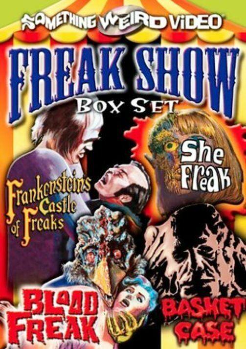 Freak Show Box Set (DVD, Something Weird Video, Basket Case, Etc.) NEW RARE OOP