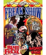 Freak Show Box Set (DVD, Something Weird Video, Basket Case, Etc.) NEW R... - $28.98