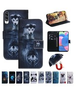 For Motorola G7 Power G7 Moto E6 Plus G8 Play Painted Leather Wallet Cas... - $61.50