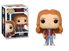 Stranger Things 2nd Season Max with Skateboard POP! Figure Toy #551 FUNK... - $12.55