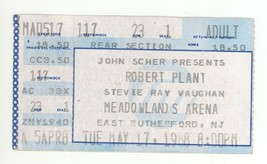 Robert Plant 5/17/88 E Rutherford NJ Meadowlands Arena Ticket Stub! Led ... - $9.89