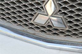 09 10 11 12 Mitsubishi Galant Front Upper Radiator Hood Grill Mesh Chrome image 5