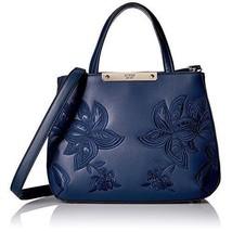GUESS Bag Handbag For Women Leather Bag Navy Birthday Anniversary Gift U... - $142.79