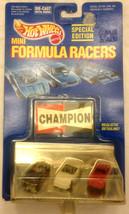 Hot Wheels MINI FORMULA RACERS, 1989 Hot Wheels Special Edition 3 Cars, ... - $16.96