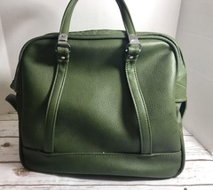Vintage 1960s American Tourister Green Tiara TOTE BAG Carry On - $51.93