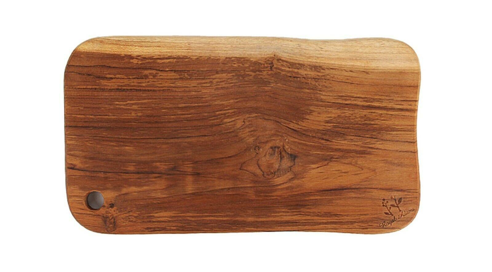 Loyal Adams Teak Sono Kitchen Wooden Chopping Serving Cutting Bread Board