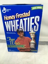Sealed Wheaties Box Tiger Woods Honey Frosted 1998 )8r Newest Champion - $14.95
