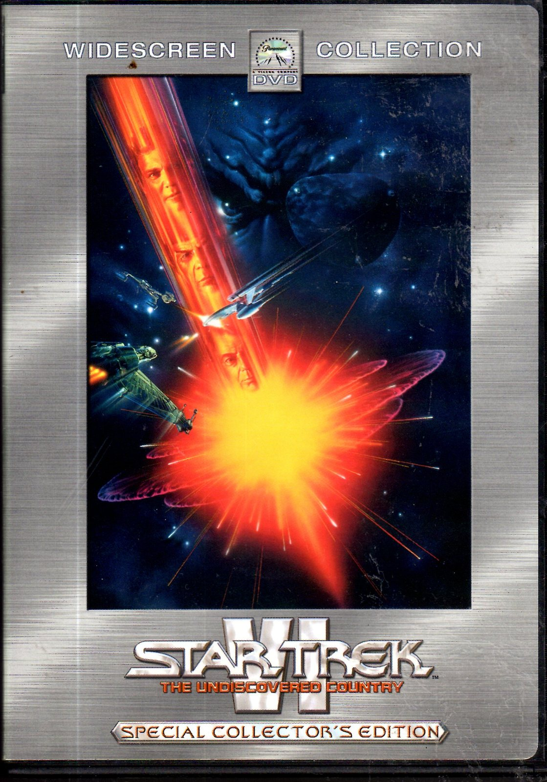DVD - Star Trek VI -The Undiscovered Country