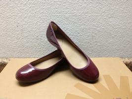 Ugg Antora Ii Deep Bordeaux Patent Leather Flats Slip On Us 7 / Eu 38 / Uk 5.5 - $44.88