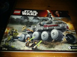 Lego Bauanleitung Clone Turbo Tank 75151 Instruction Manual Only - $8.91