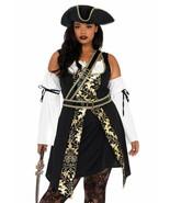 Leg Avenue Negro Mar Bucanero Pirata Talla Grande Halloween Adulto Traje... - $58.58