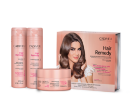 Cadiveu - Hair Remedy Home Care KIT NEW/SEALED With Box Set 3x Products ... - $61.61