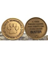 RecoveryChip Personalized Pet Name Memorial Medallion Engraved Always Remembered - $19.79