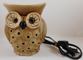 Full Size Wax Warmer Spotted Owl Fragrance Whoot Plug In Table Top - $9.89