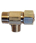 "Easy Connect 3/8"" x 3/8"" x 1/4"" Brass Supply Stop Extender Tee - $8.88"