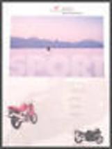 1997 Honda Motorcycle SportBike Brochure 1100 Hawk 900 - $19.50