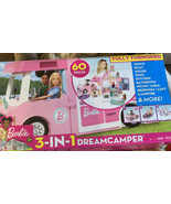 Barbie 3-in-1 DreamCamper Vehicle With Pool & Accessories (GHL93) - $92.04