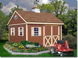 Best Barns Mansfield 12x12 Wood Storage Shed Kit - ALL Pre-Cut - $2,595.00