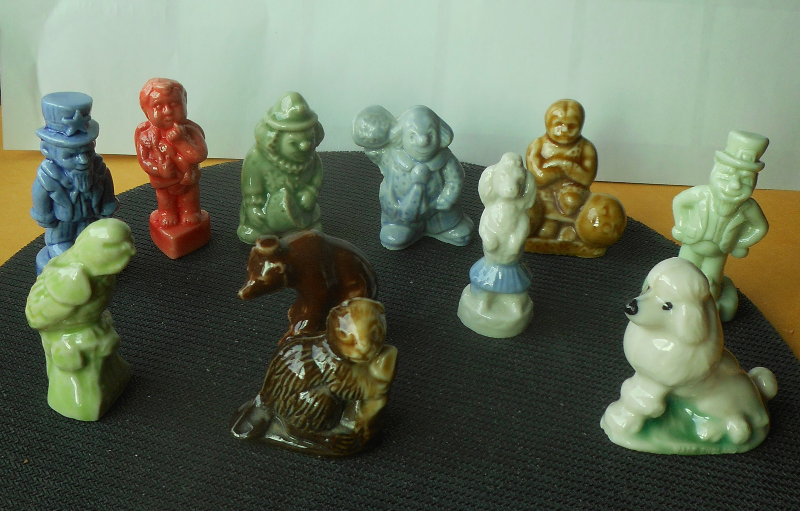 1 Wade Of England Red Rose Tea American Heritage Series Figurines Your Pick