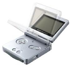 Nintendo Gameboy Advance Sp Konsole Platinum Silber Farbe Weltweit - $317.98