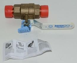 NIBCO HydraPure NF840X8B PC58580LF 1 1/4 Inch Lead-Free Bronze Ball Valve image 1