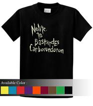 Nolite Te Bastardes Funny Men's T-Shirt Size S-3xl - $19.00