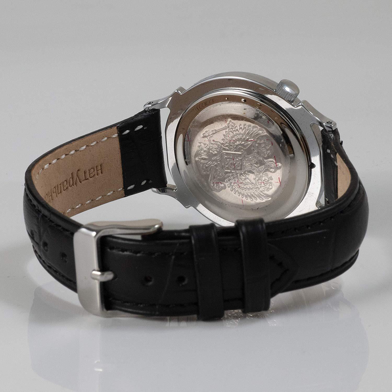 Vostok Classic Style Womens #581592 Cubic Zirconia Dial Mechanical Wristwatch