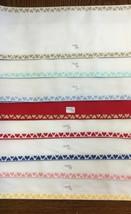 Zweigart Stitch Band 7410 Fabric Banding for Needlework Cross Stitch 6 1... - $16.95