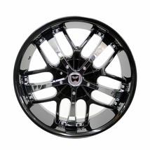 4 Gwg Wheels 18 Inch Black Chrome Savanti Rims Fits Ford Mustang V6 2015 - 2018 - $599.99
