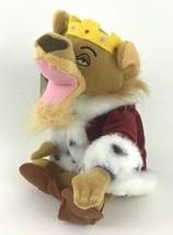 "Disney Store Robin Hood Prince John Bean Bag 8"" Plush Stuffed Toy Vintage w Tags - $19.75"