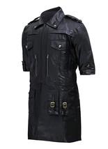 Mens Noctis Lucis Caelum Final Fantasy XV Black Faux Leather Jacket image 2