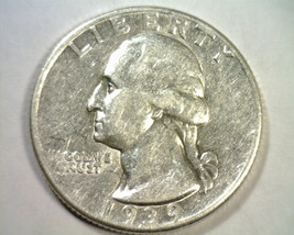 1939-D WASHINGTON QUARTER EXTRA FINE / ABOUT UNCIRCULATED XF/AU NICE COI... - $16.00