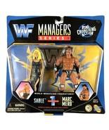 Sable and Wildman Marc Mero Managers Series WWF WWE Jakks Figure 1997 Se... - $29.65
