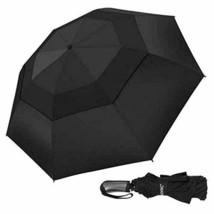 Adoric Windproof Travel Umbrella Compact Reverse Folding Umbrella with Reinforce - $45.07