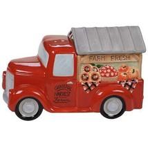 Susan Winget Harvest Bounty Truck Ceramic Cookie Jar  New Certified Intl - $59.35