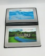 2001 Chevrolet Malibu Factory Original Owners Manual Book Portfolio #48 - $17.77