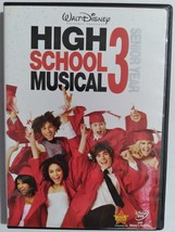 DVD  -  HIGH  SCHOOL  MUSICAL  3  ( SENIOR  YEAR )  -  MOVIE - $3.00