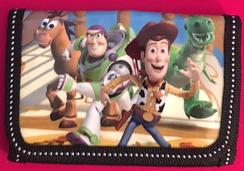 Disney Toy Story Children's Wallet— Boy's Gift More Fun Characters Available Too