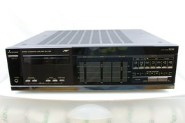 VINTAGE MITSUBISHI DA-U158 STEREO INTEGRATED AMPLIFIER WITH INSTRUCTION ... - $79.15