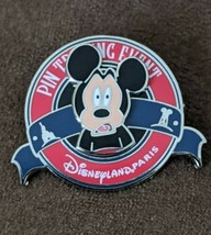 DLP Disneyland Paris PTE It All Started With A Mouse Mickey Fear LE425 Pin - $17.81