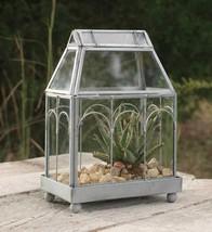 Archway Glass and Metal Terrarium Garden Plants Home Decor ,9''H. - $64.35