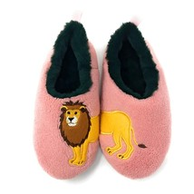 JYinstyle Women's Wild Life Plush Slippers  9-10 M US - $16.90