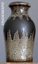 Vintage 70's SCHEURICH Keramik 523-18 Vase Batman West German Pottery Fa... - $18.80