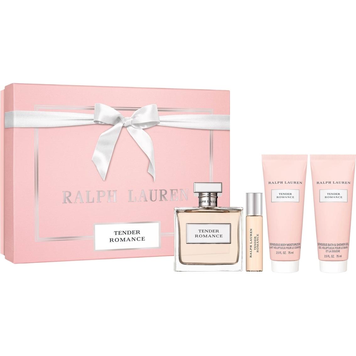 Aaralph lauren tender romance perfume 4 pcs set