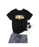 Hunter x Hunter Gon's Eyes Cotton Black T Women's T-Shirt S-5XL - $13.85+