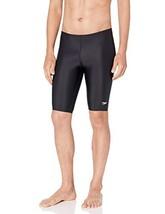 Speedo Male Jammer Swimsuit – Power Flex Eco Solid, New Black, 36 - $52.60