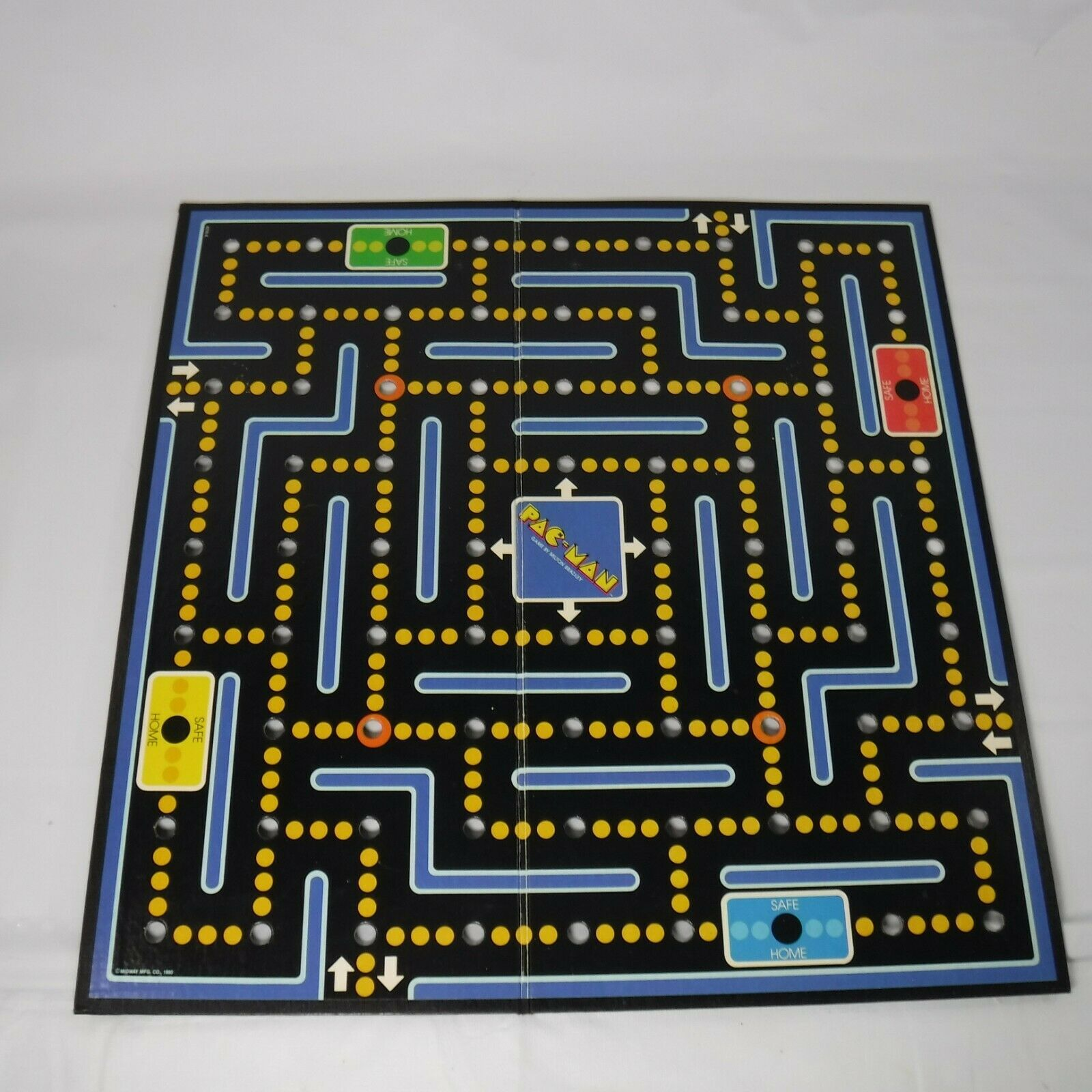 Primary image for Pac Man Board Game Replacement Board Only Vintage