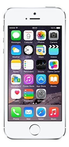 Apple iPhone 5S 16 GB Unlocked, Silver