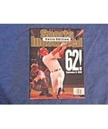 September 14, 1998 Mark McGwire Sports Illustrated Extra Edition Basebal... - $5.99